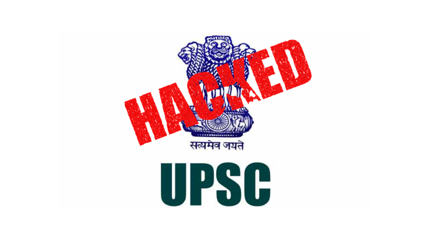 UPSC Website Hacked Imaged by Cyberops Infosec