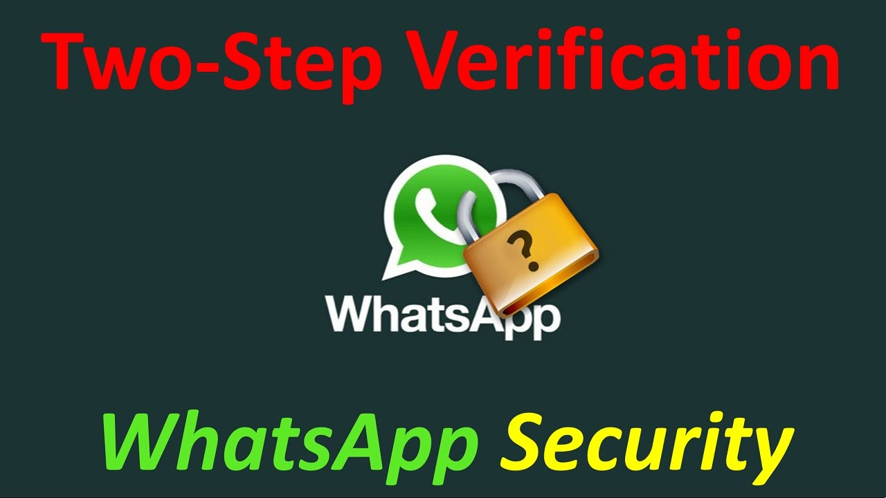 Two-Step Verification on WhatsApp | Cyberops