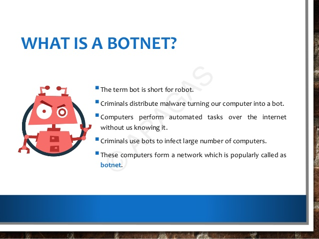 what is botnet? Cyberops.in